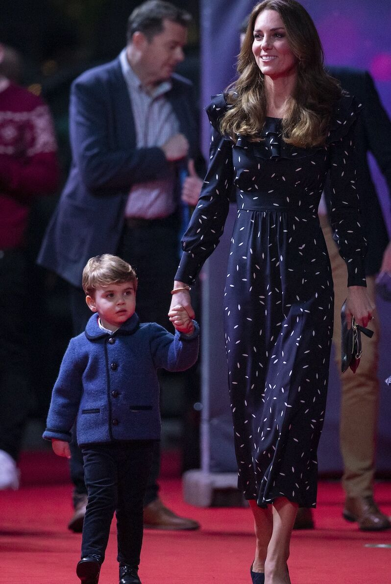 Du haut de ses trois ans, le prince Louis est déjà le chouchou de Kate Middleton