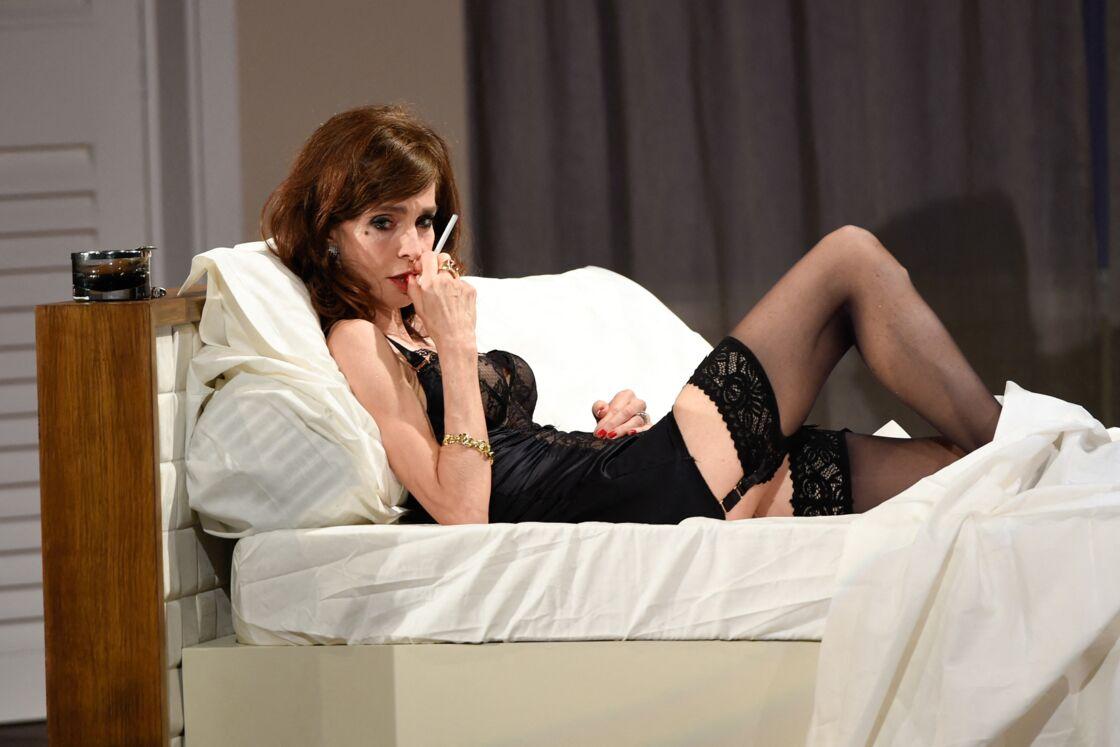 Anne Parillaud sur scène