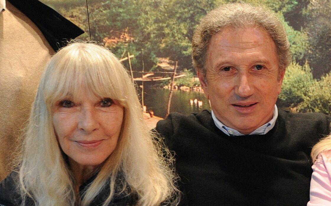 Michel Drucker et son épouse Dany Saval à Château-Gontier le 1er mai 2015