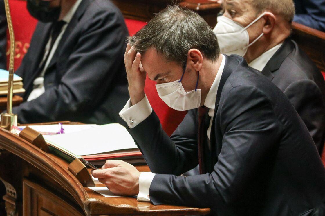 Olivier Véran à l'Assemblée nationale.