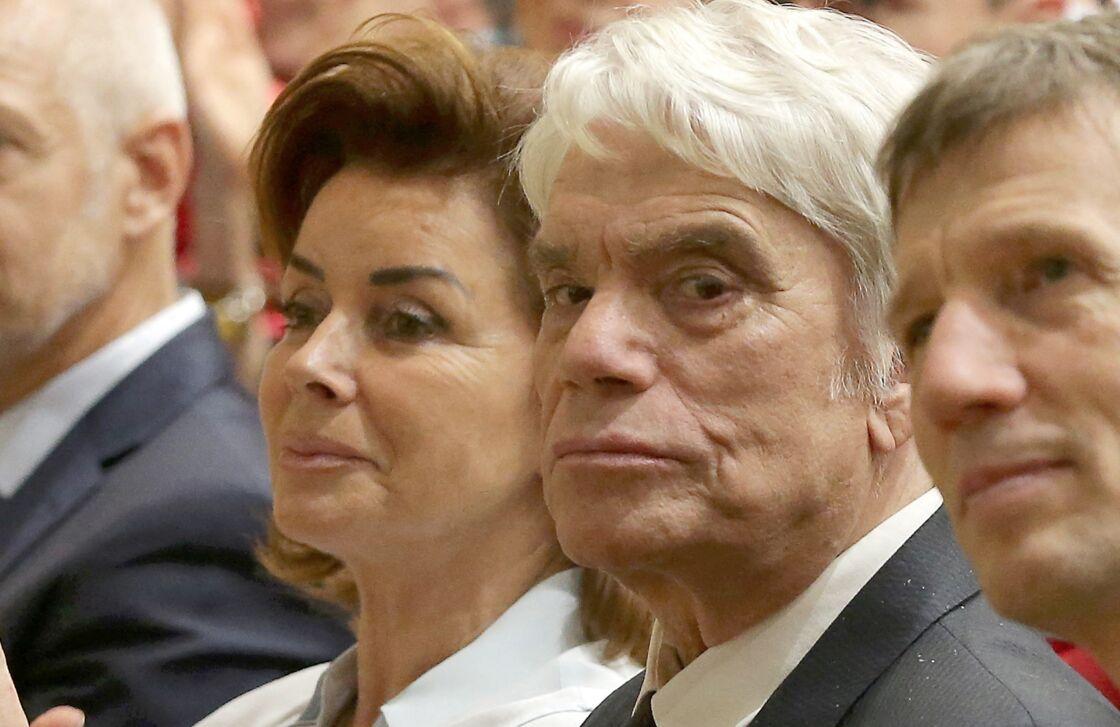 Bernard et Dominique Tapie à la rentrée solennelle de la faculté de médecine de Nice, le 22 novembre 2018