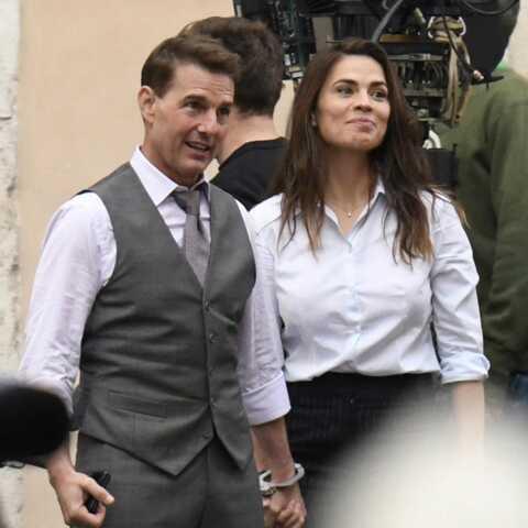 Tom Cruise très proche d'Hayley Atwell: coup de pub ou vraie romance?