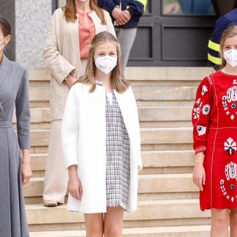PHOTOS – Letizia d'Espagne: ses deux filles Sofia et Leonor ultra complices avant la séparation