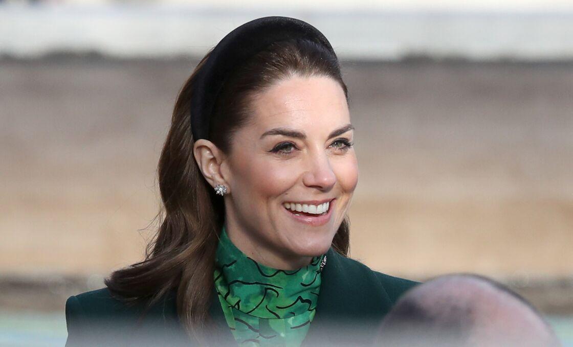 Kate Middleton lors d'une visite