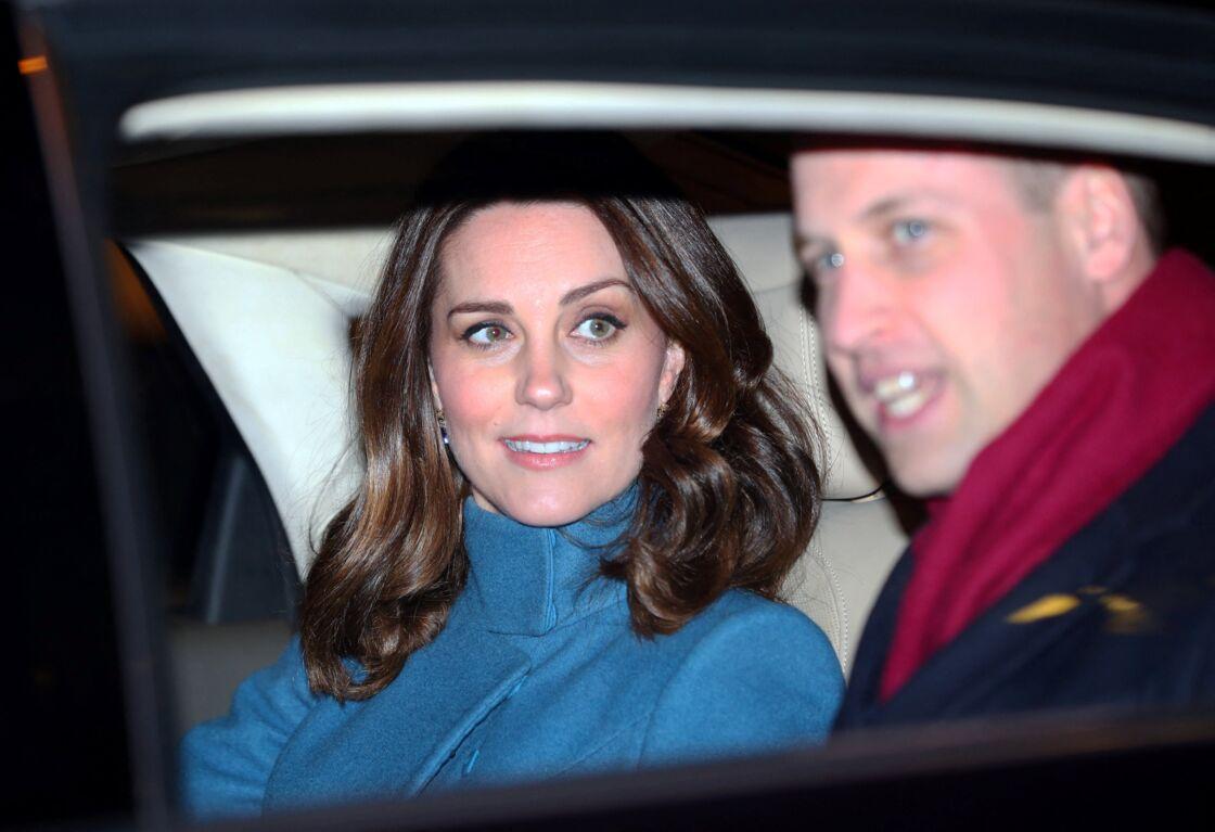 Le prince William, duc de Cambridge et Catherine Kate Middleton, duchesse de Cambridge en visite à la pépinière de Start-Up