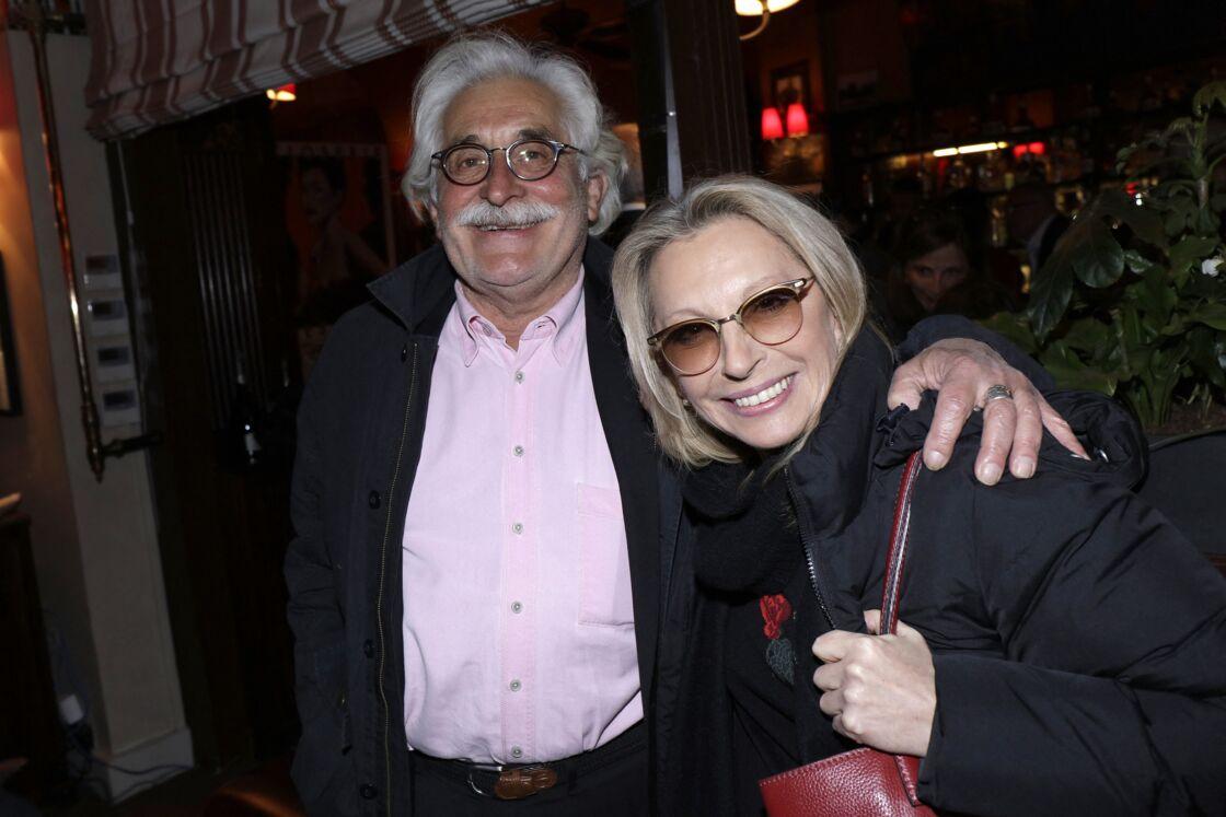 Véronique Sanson et son compagnon Christian Meilland lors de la remise du 10ème Prix de la Closerie des Lilas.