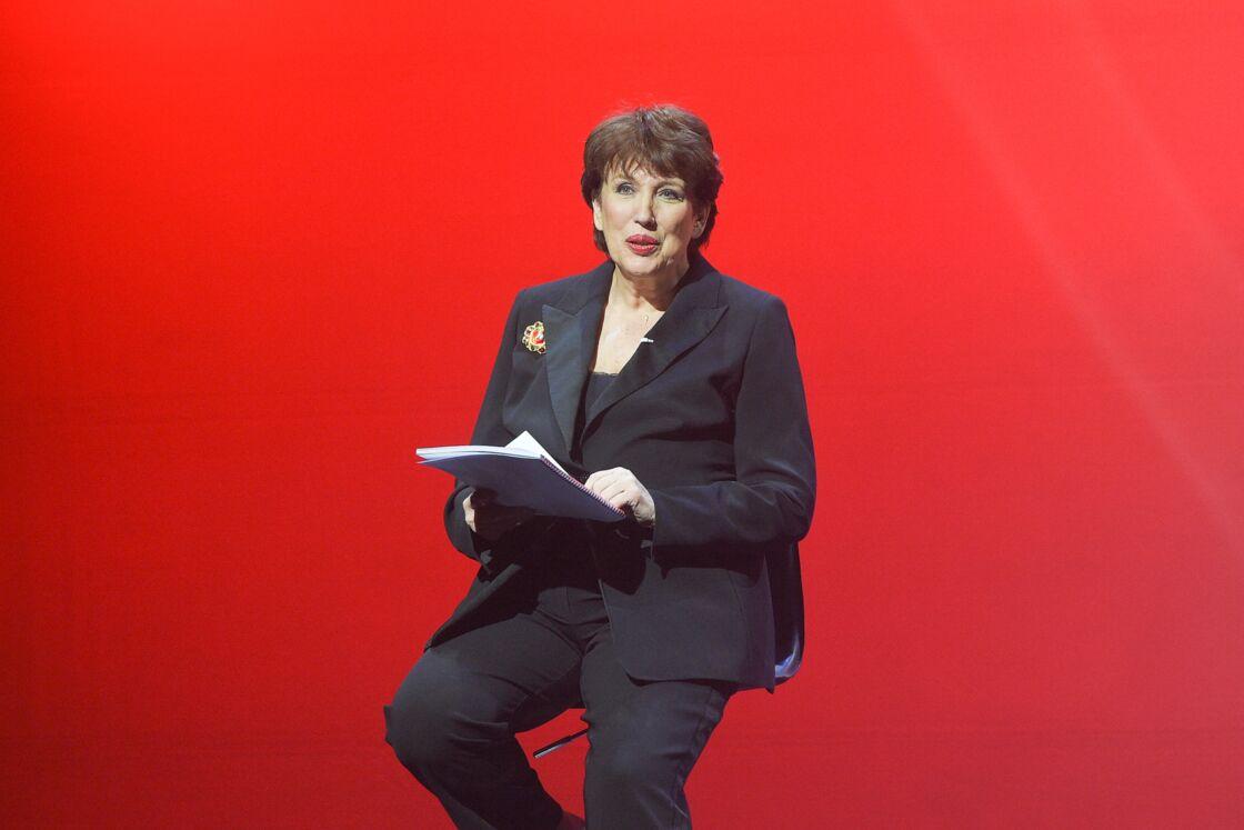 Roselyne Bachelot lors de la représentation de la pièce