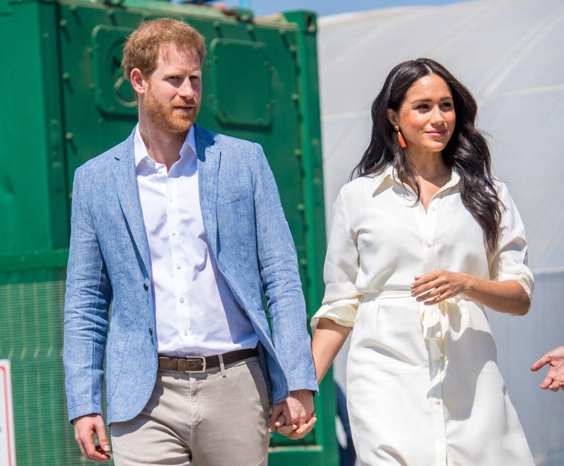 Le prince Harry et Meghan Markle en 2019.