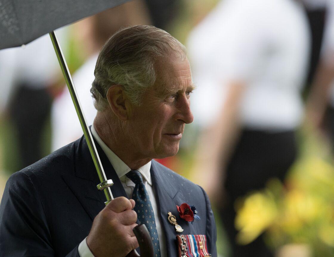 Le prince Charles, ici le 2 juillet 2016 à Thiepval, a forcé ses fils à discuter entre eux