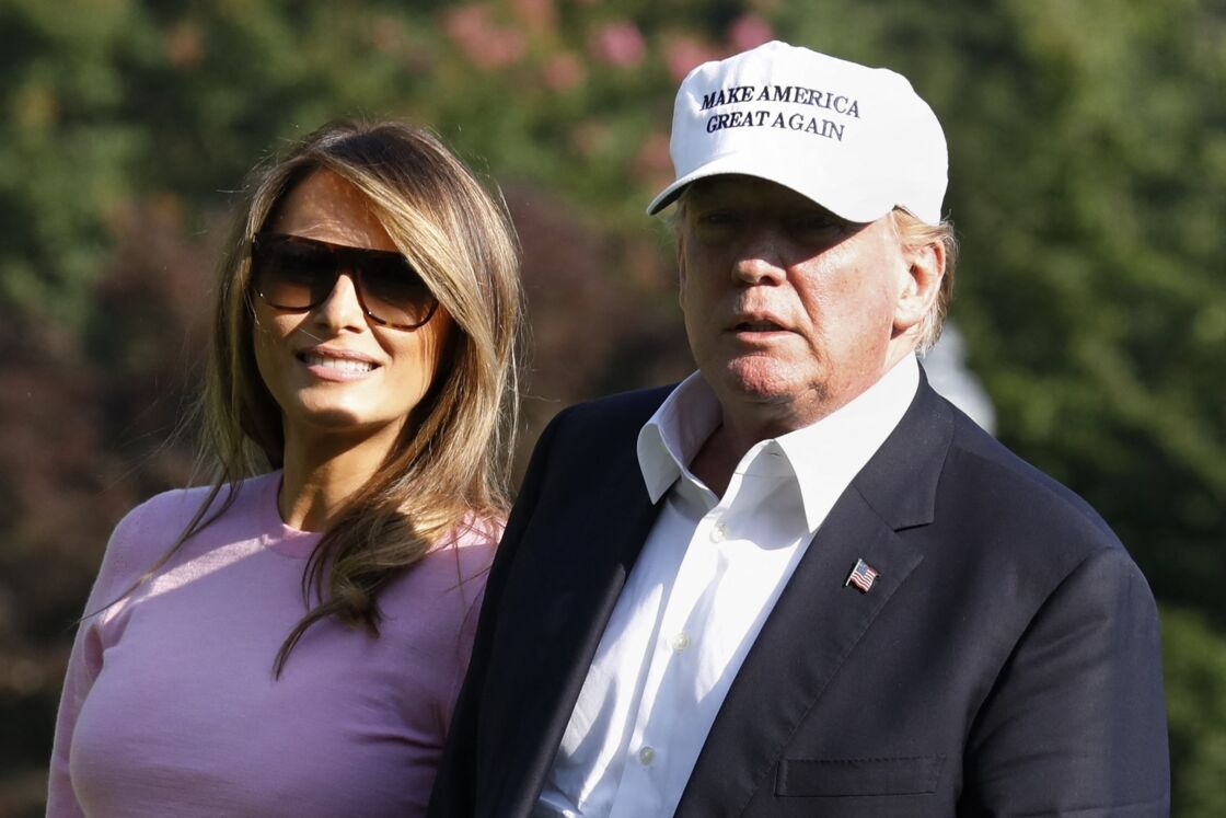 Pour l'anniversaire de Melania, Donald Trump fait le strict minimum