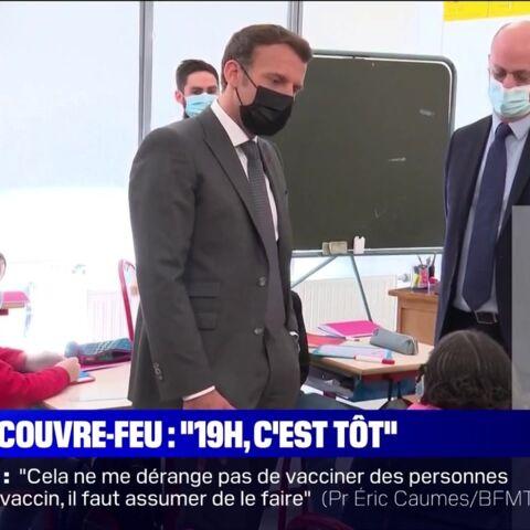 «C'est un peu énervant»: Emmanuel Macron interpellé par un enfant sur le couvre-feu