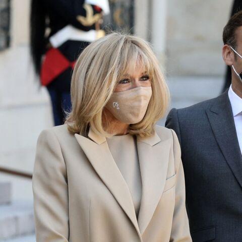 PHOTOS – Brigitte Macron: nouvelle apparition stylée auprès de son président de mari