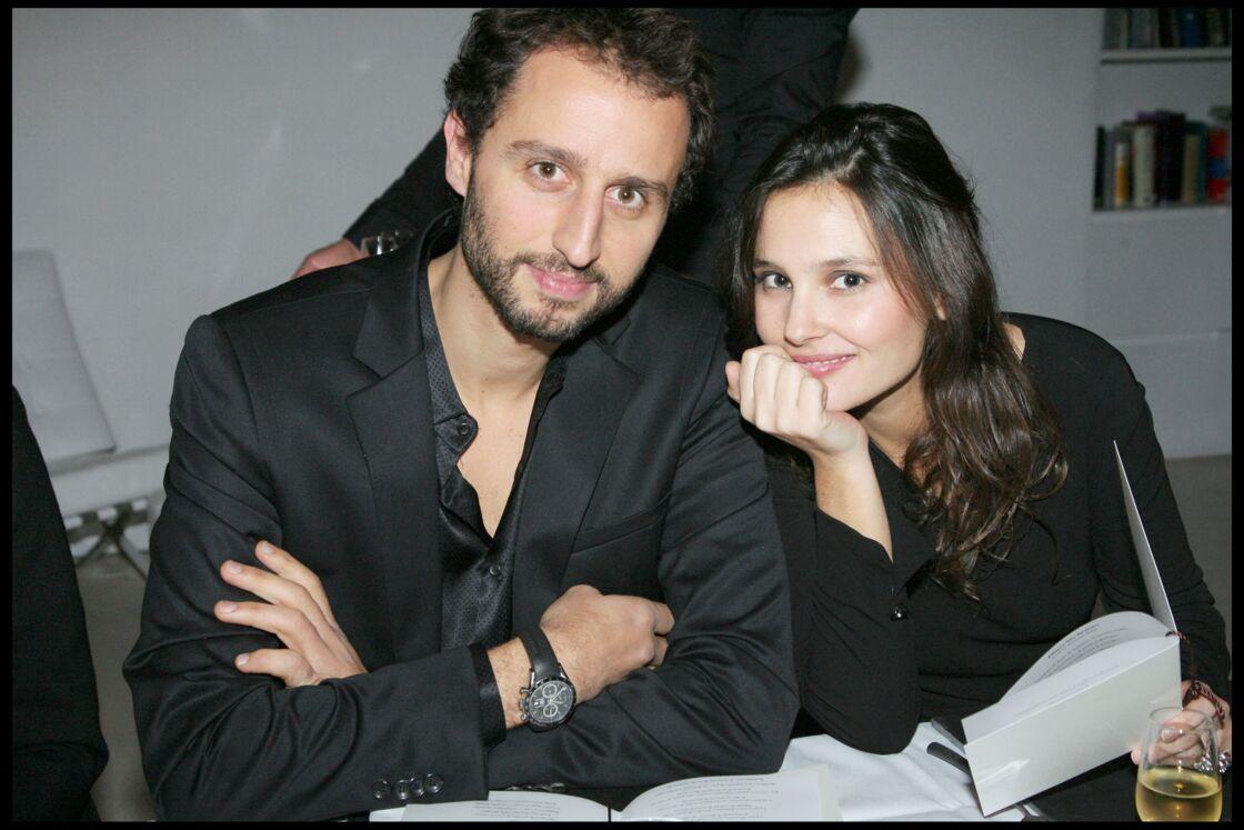 Arié Elmaleh et Virginie Ledoyen en 2008.