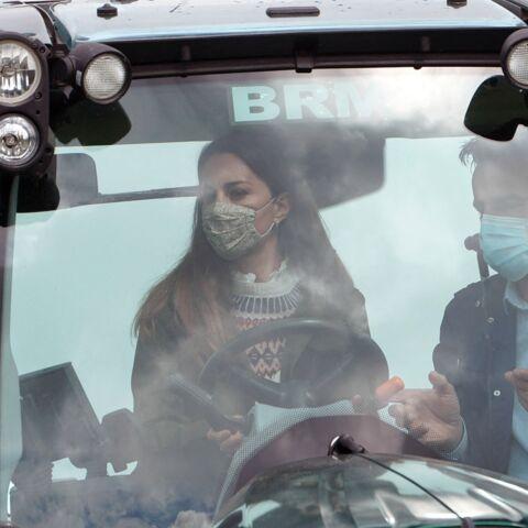 PHOTOS – Kate Middleton sur un tracteur: elle épate la galerie!