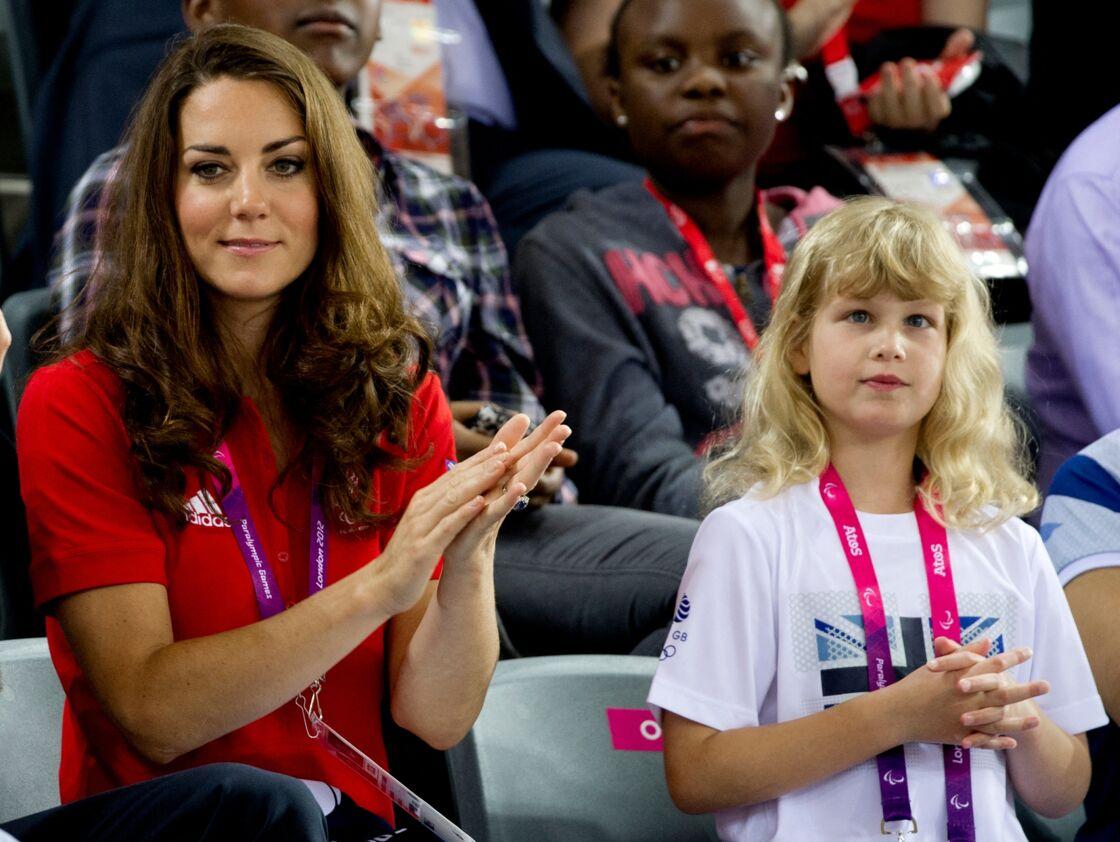 Kate Middleton et Lady Louise aux Jeux Olympiques de Londres 2012