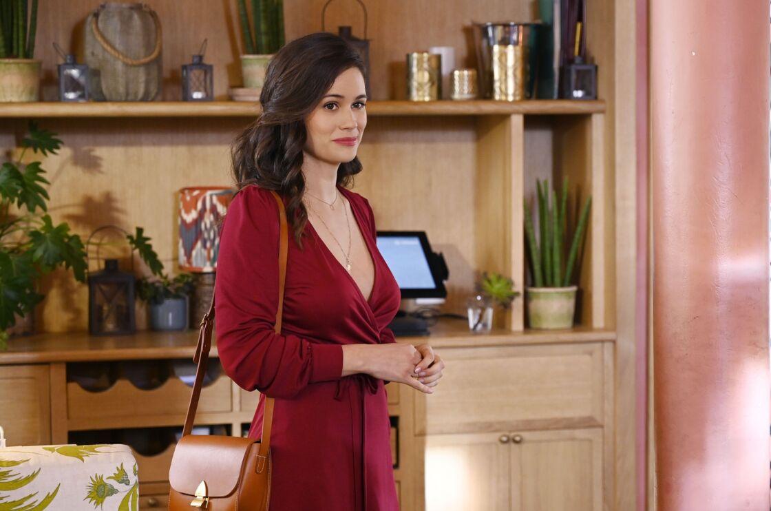 La comédienne Lucie Lucas dans la série