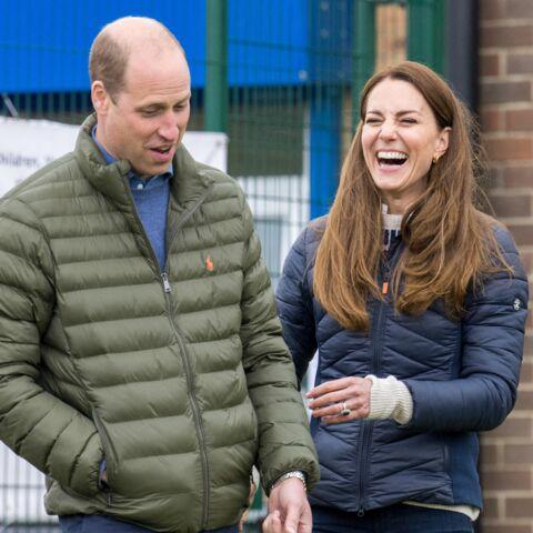 Kate Middleton et William loin des tracas: leur bonheur est dans le pré