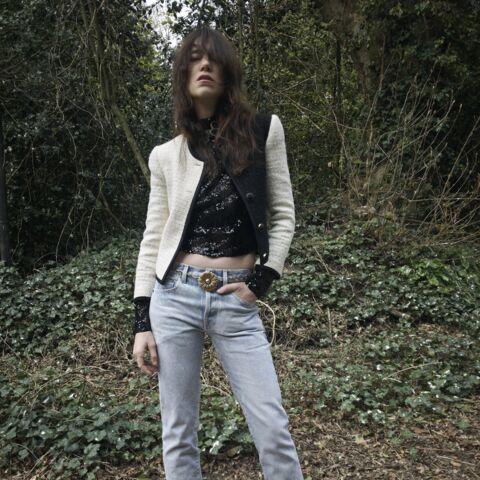 PHOTO – Charlotte Gainsbourg top model: elle pose dans la nouvelle campagne Saint Laurent Paris