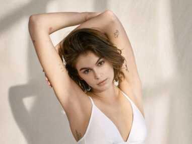 PHOTOS - Kaia Gerber et ses nombreux mini tatouages