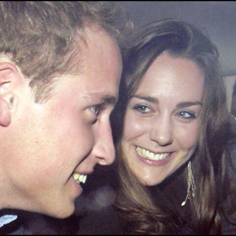 PHOTOS – Kate Middleton et William: leurs jeunes années insouciantes