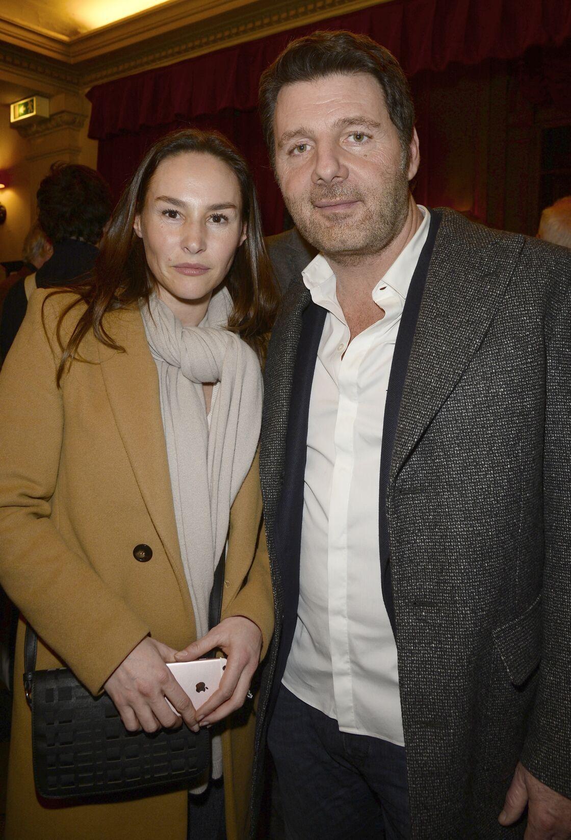 Vanessa Demouy et Philippe Lellouche en 2016.