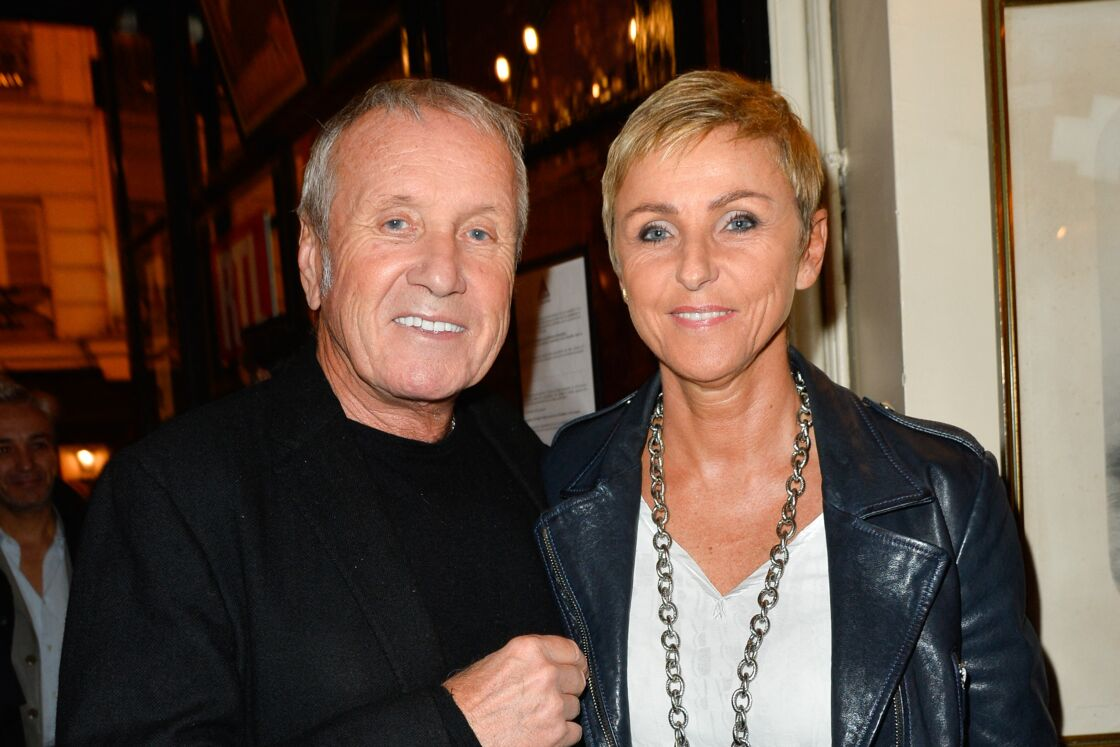 Yves Rénier et sa femme Karin - Générale de la pièce