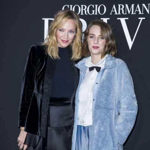 PHOTOS – Uma Thurman: sa fille Maya est son portrait craché!