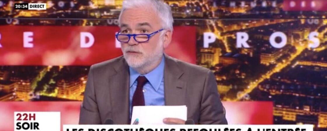 Pascal Praud dans L'heure des Pros, le 29 avril 2021