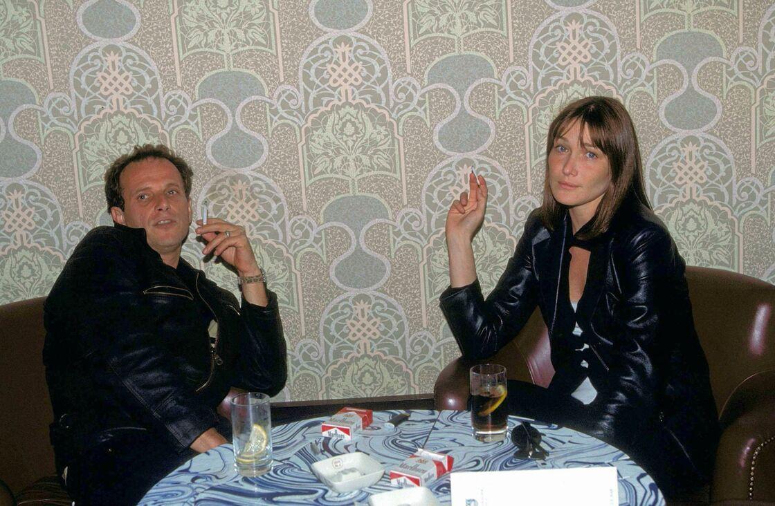Charles Berling et Carla Bruni
