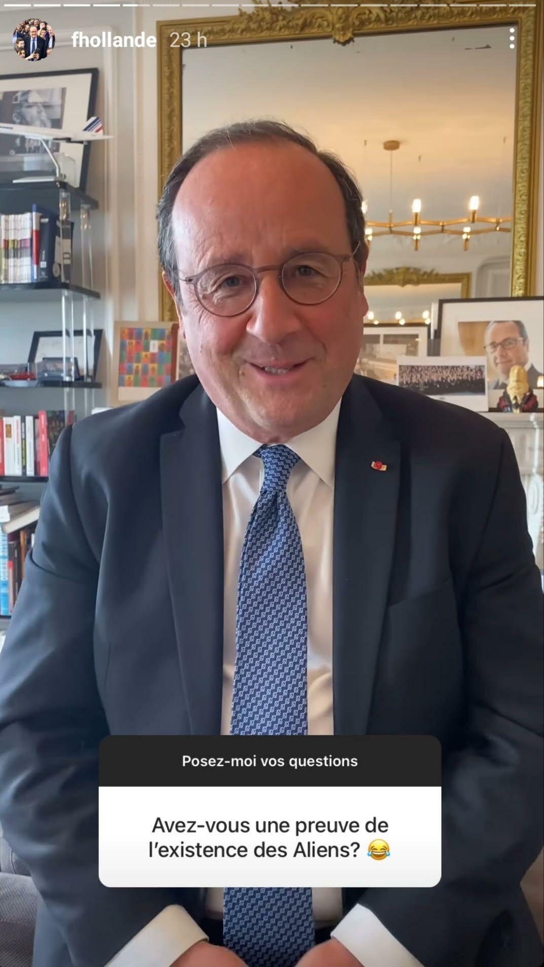 Ce jeudi 29 avril, François Hollande a accepté de répondre aux questions de ses abonnés sur Instagram.