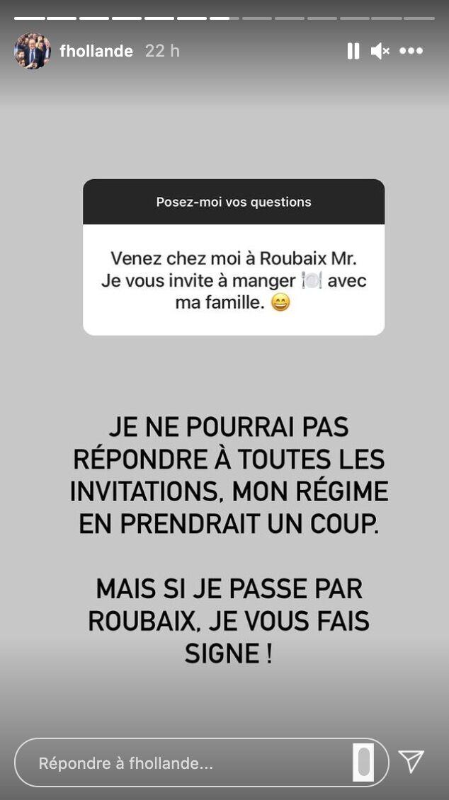 Session questions-réponses pour François Hollande, le 29 avril 2021 sur Instagram