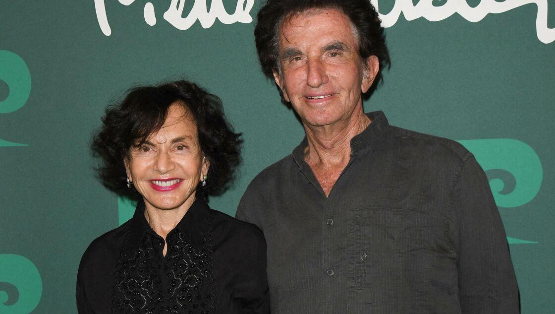 Jack Lang avec sa femme Monique