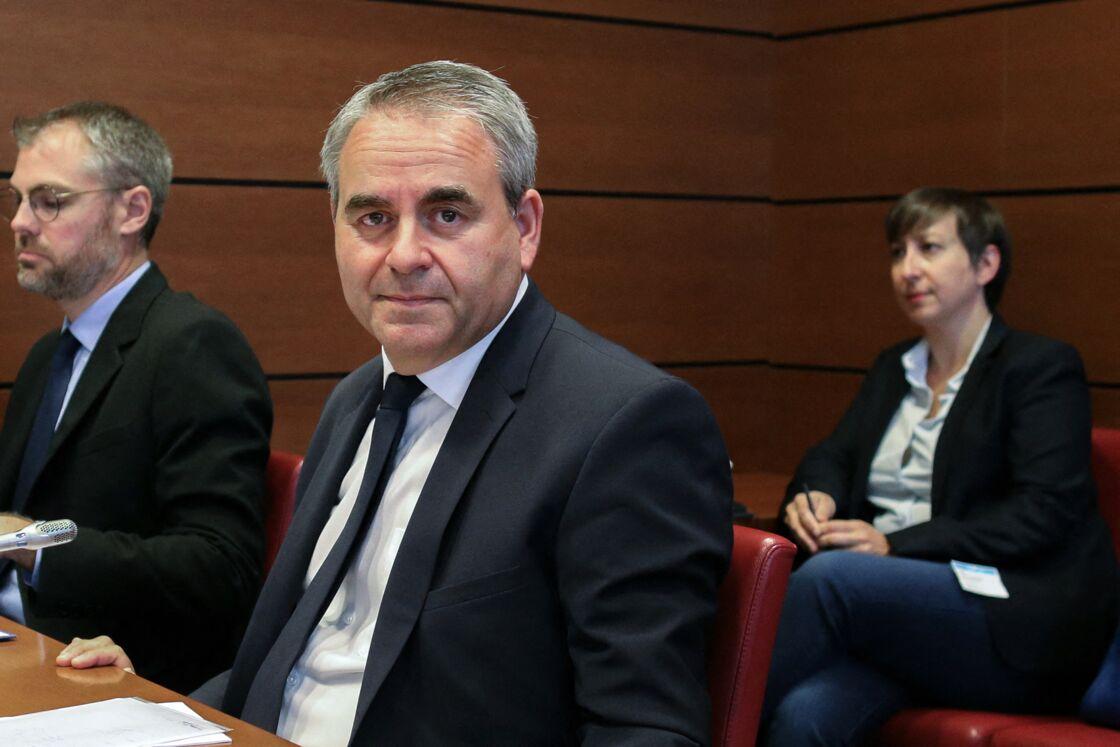 Xavier Bertrand, ici le 2 juillet 2020, a annoncé sa candidature à l'élection présidentielle le 24 mars 2021