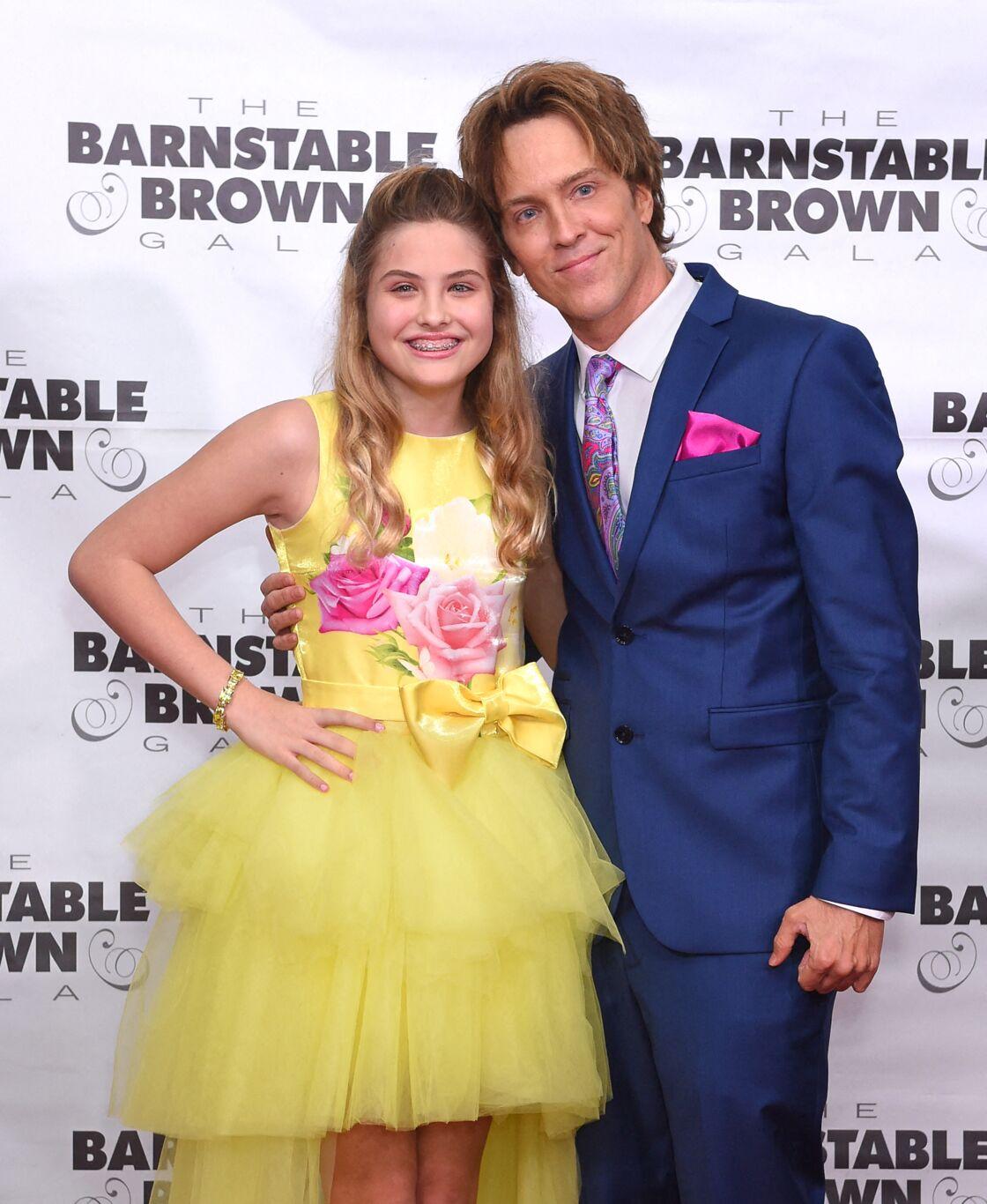 Dannielynn Birkhead et son père Larry Birkhead en mai 2019, à Louisville