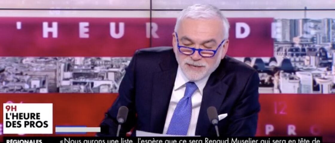 Pascal Praud dans L'heure des pros, lundi 3 mai 2021