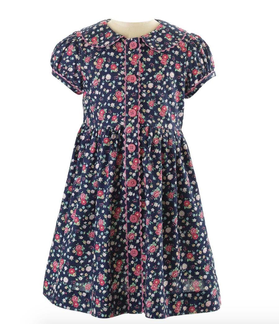 Robe à fleurs, Rachel Riley, 59£, www.rachelriley.co.uk
