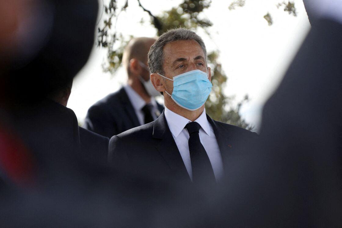 Nicolas Sarkozy le 7 novembre 2020 à Nice