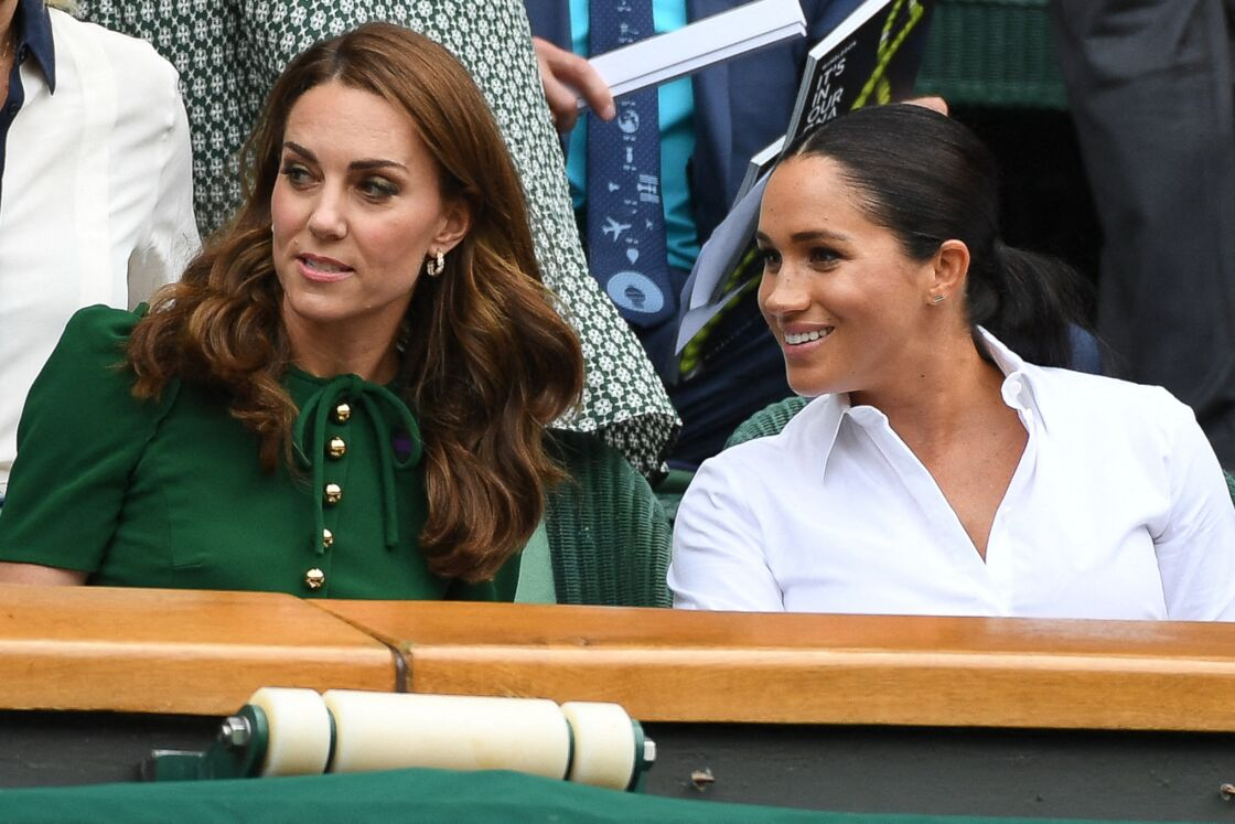 Kate Middleton et Meghan Markle à Wimbledon en 2019