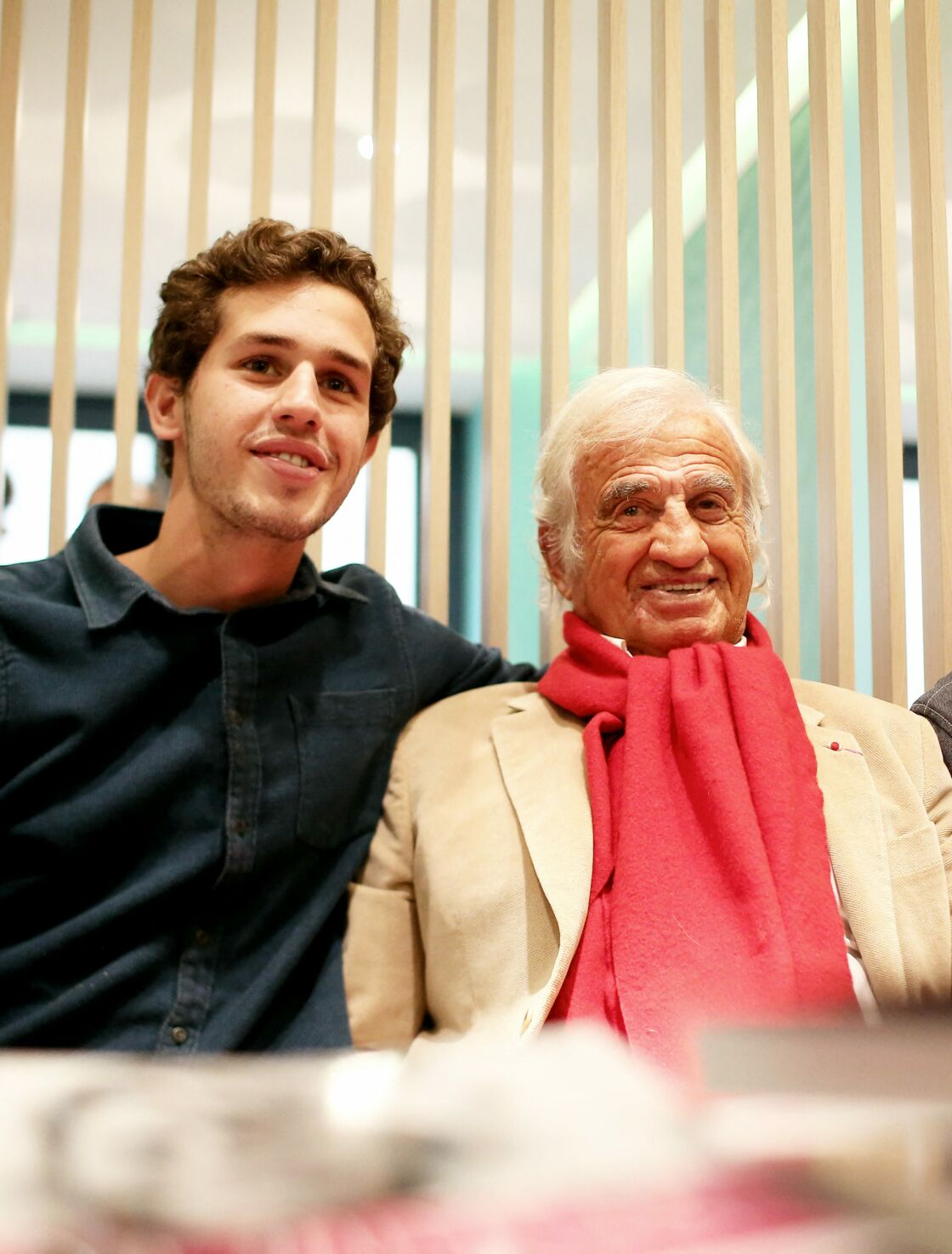 Victor, très proche de son grand-père Jean-Paul Belmondo