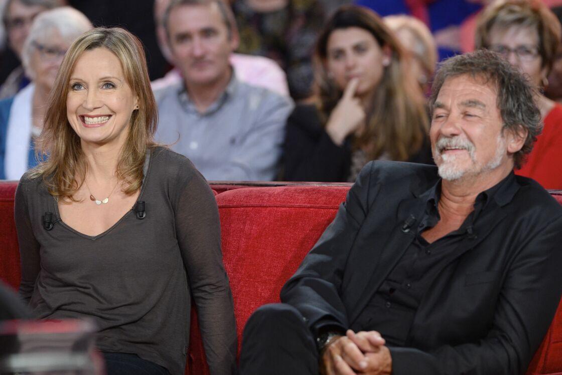 Catherine Marchal et Olivier Marchal - Enregistrement de l'émission