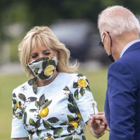 PHOTOS – Jill Biden copieuse: elle porte la même robe que Meghan Markle