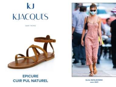 Découvrez les 100 stars fan de sandales K.Jacques.