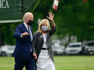 PHOTOS - Jill Biden copie le style vestimentaire de Meghan Markle