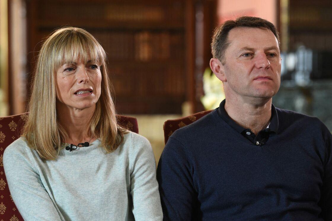 Les parents de Maddie McCann en 2017.
