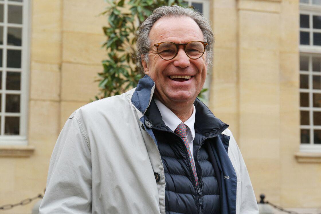 Renaud Muselier, actuel président de la Région Provence-Alpes-Cote d'Azur, lors d'une réunion avec les présidents de régions, à l'hôtel Matignon, à Paris, le 28 septembre 2020.