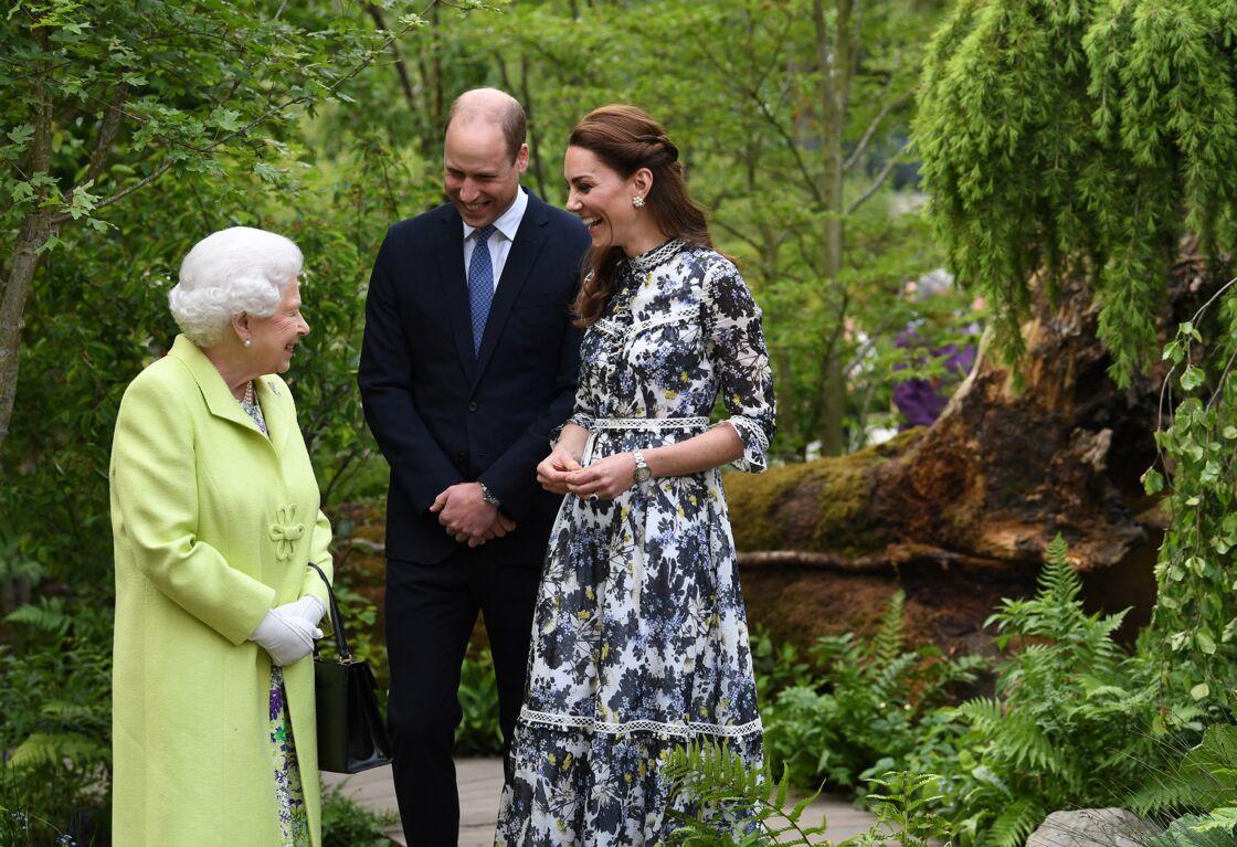 Elizabeth II mise sur eux