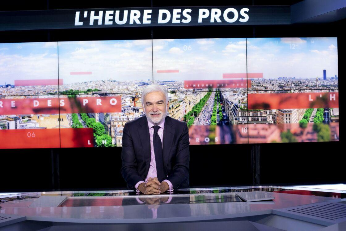 Pascal Praud sur le plateau de CNews en 2020.
