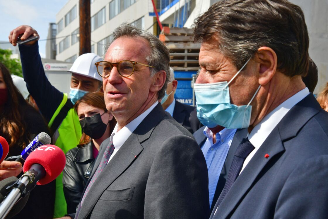 Renaud Muselier et Christian Estrosi en mai 2021.