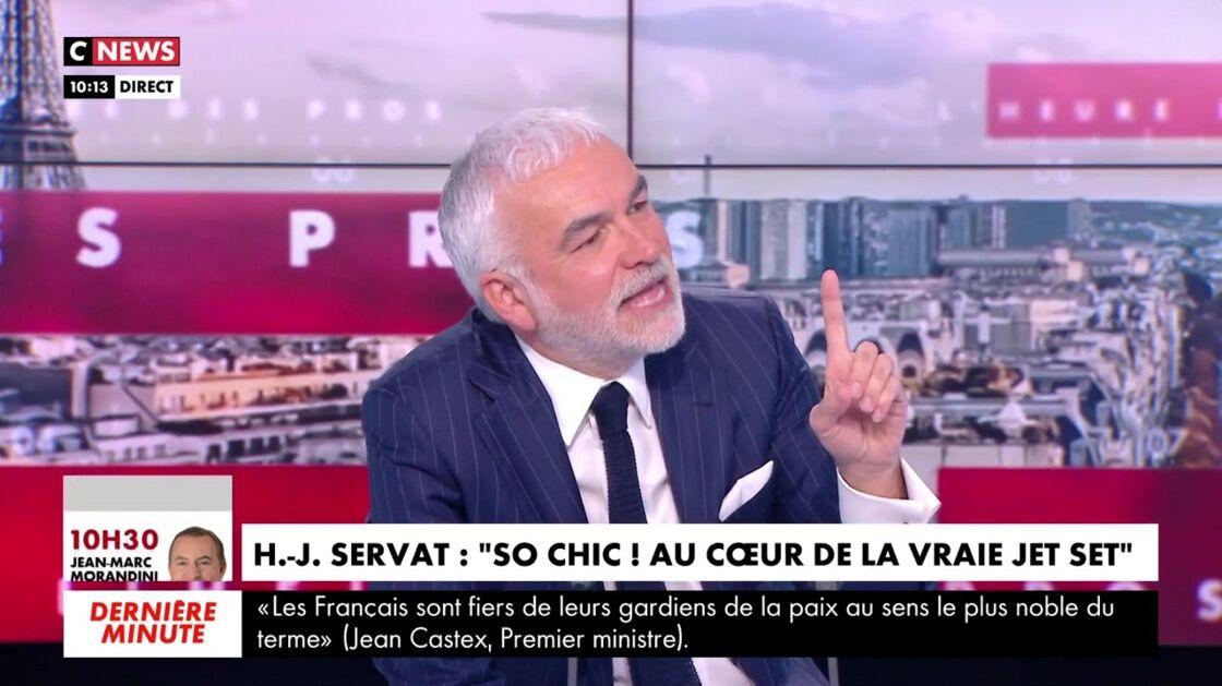 Pascal Praud dans L'heure des pros, ce vendredi 7 mai 2021.