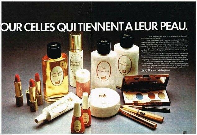Dès le départ, la marque RoC s'impose comme une marque pionnière en dermo-cosmétique, bousculant et révolutionnant les codes skincare de son époque.
